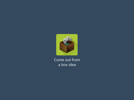 Come Out From A Box App Icon By Artworkbean by artworkbean