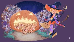 Trick and Treat by andrerb
