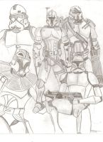 Clone troopers by stipher30