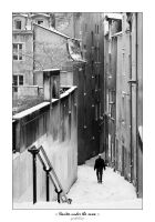 :: Nantes under the snow :: by yardieLion
