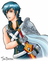 Chrom in Copic by SaBasse