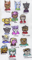 Chibis Galore by HuggsyTheBear