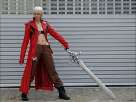 Dante Cosplay - Battleready by Abessinier