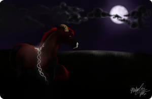 A Lost Soul Lead by the Moon by FluffyAri