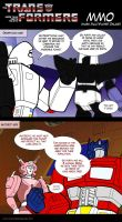 Transformers MMO by Comics-in-Disguise