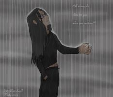 Neji - In the Rain by pinkyk