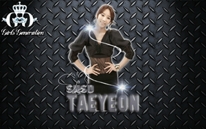 SNSD TAEYEON WALLPAPER 2 by ExoticGeneration21