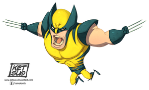 Le Petit Wolverine by KetsuoTategami