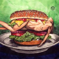 Tasty Burger by chiel1