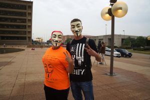 Anonymous for Peace by bowtiephotography