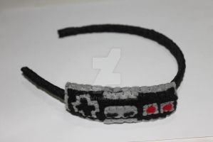 Nes Controller Headband by lkcrafts