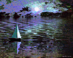 Night Sail by Nigel-Hirst