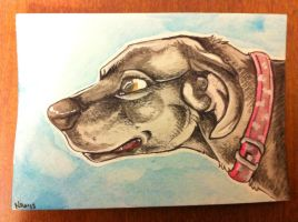 Iron Artist Challenge ACEO 9 by nightspiritwing