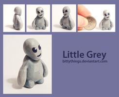 Little Grey by Bittythings