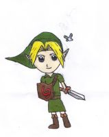 Chibi Young Link by narutardednerd