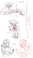Coraline Request Sketches by nanashi