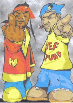 REDMAN AND METHOD MAN by rocbottom