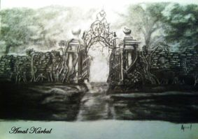 Alice In Wonderland Gate by UltimateExpression