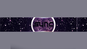 YT Banner Icey/Glass  Style by ItsSync