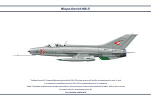 MiG-21 Hungary 2 by WS-Clave