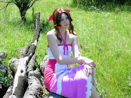 Aerith - Summer Days by SoraPaopu