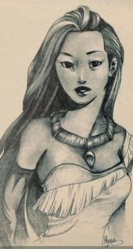 Boredom leads to Pocahontas by rhymee
