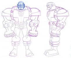 ANIMATION: Batman: Brave and the Bold: Mongul by StephenBJones