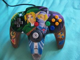The Legend of Zelda: OoT Custom Controller by ZeroMayhem