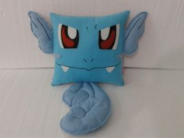Handmade Anime Pokemon Wartortle Plush Pillow by RbitencourtUSA