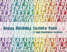 Happy Birthday Texture Pack2 by powerpuffjazz