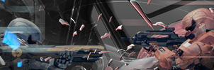 Halo 4 Livestream banner by Tempest-Arts