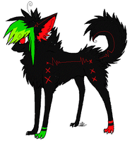 Scene puppy adopt 1 by FlSHES