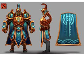 Dota 2 : Omniknight - Vestments Of The Enlightened by Scuro
