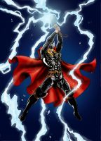 Thor by Night by wordmongerer