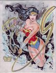 Wonder Woman (#22) by Rodel Martin by VMIFerrari