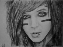 Andy Biersack by leeinanimus