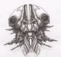 Robot 003-A by zepangborn