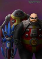 Realistic Robotnik and Badniks by Harry-the-Fox