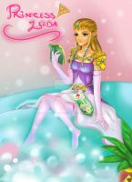 Zelda's Bubble Tub by NorngPinky