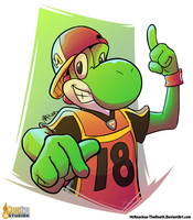 No Man Is More Yoshi by McKnackus