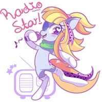.:Radio Star:. comm by Ipun