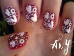 Hearts Nail Design 2 by AnyRainbow