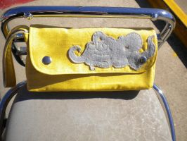 Yellow Octopurse by papersouls
