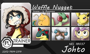 Waffle Nugget: IPL ID Card by WafflezNFries