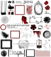 True Blood / Vampire: Word Art + Clear Cut PNG 30 by Riogirl9909stock