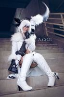 Absol Gijinka: Disaster Pokemon by jobofish