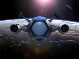 Capitaine flam cosmolem 3d by imppao