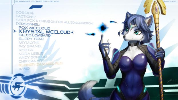 Krystal McCloud Wallpaper by JECBrush