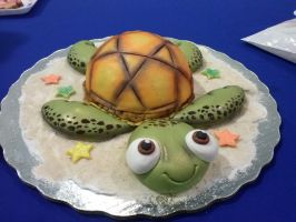 Turtle Cake by chiaopi