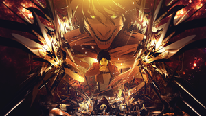 Shingeki no Kyojin Wallpaper by tammypain